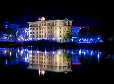 Pfortmühle bei Nacht
