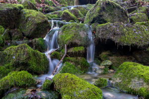 Wasserfall im Weserbergland